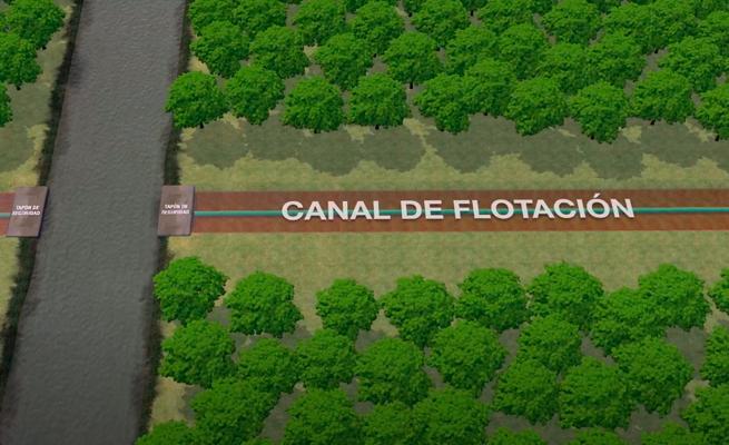Oleoducto Nor Peruano – Canal de flotación